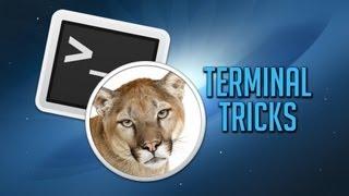 Top Terminal Tricks in OS X Mountain Lion