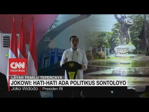 Geram! Jokowi: Hati-hati Ada Politikus Sontoloyo Mp3