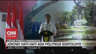 Geram! Jokowi: Hati-hati Ada Politikus Sontoloyo