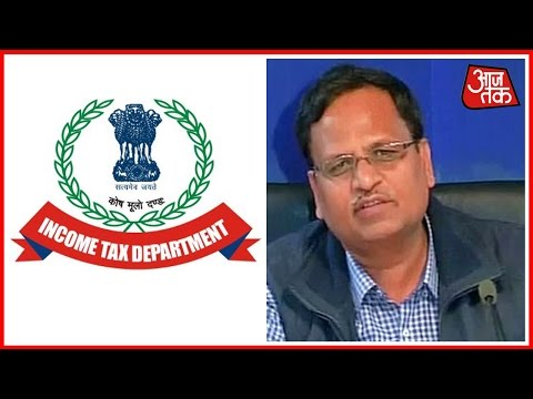 Income Tax Department Issues Notice To Delhi Health Minister Satyendra Jain For Money Laundering