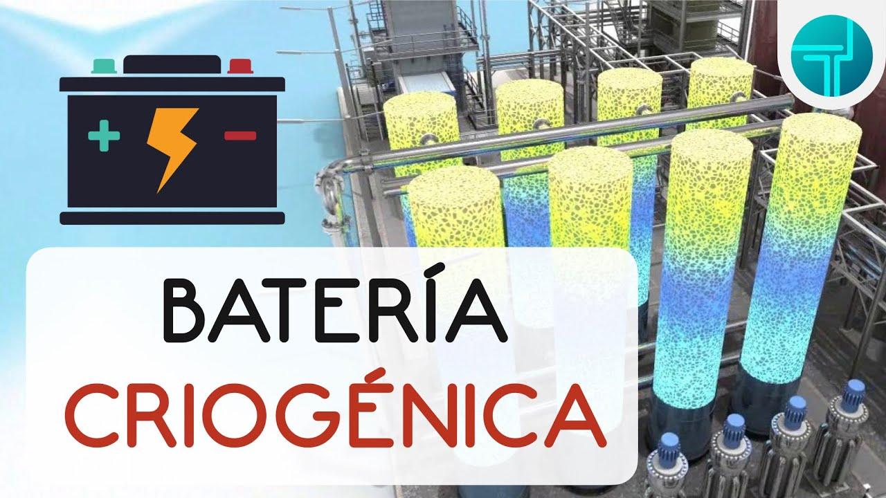 ¿Qué es la CRYObattery?| Almacenamiento criogénico de energía