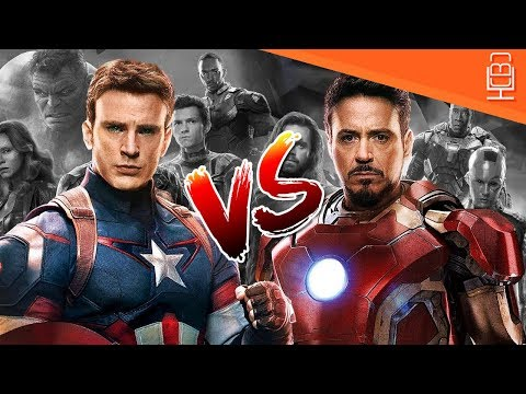 Captain America and Iron Man Relationship in Avengers Infinity war Detailed