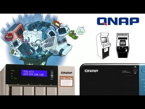 RetroArch and QNAP NAS