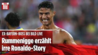 Bei BILD Live: Rummenigge erzählt irre Ronaldo-Anekdote