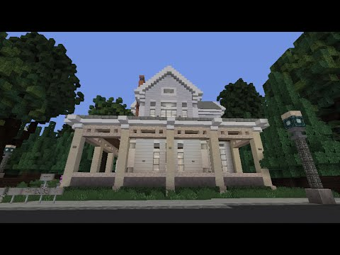 Minecraft how to build victorian house 1 part 1 youtube for Building a victorian house
