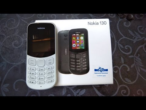 nokia 130 flashing keyboard