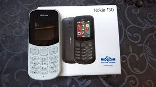 Nokia 130 2017 Unboxing and Review