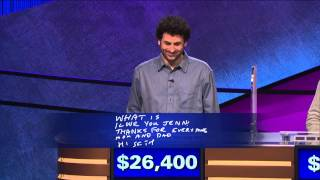 Jeopardy! Presents: 6-Time Champion Alex Jacob