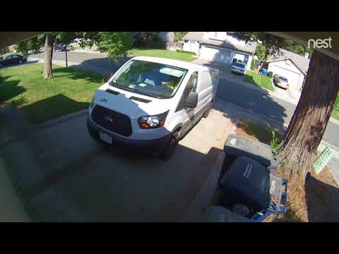 Amazon Delivery Driver Throws Package Out Window