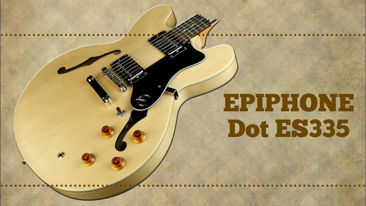 epiphone dot es 335 turbo guitar 119 youtube. Black Bedroom Furniture Sets. Home Design Ideas