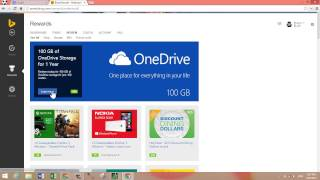 How To Get 100 GB of Free Cloud Storage on OneDrive Using Bing Rewards!