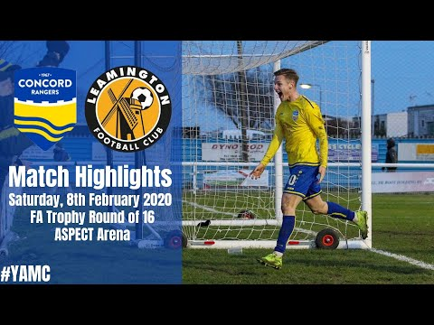 Concord Leamington Goals And Highlights
