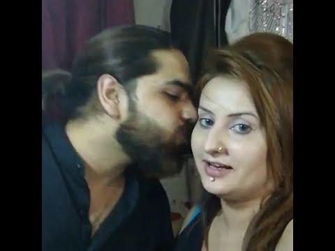 Hot Afreen Khan in Saloon
