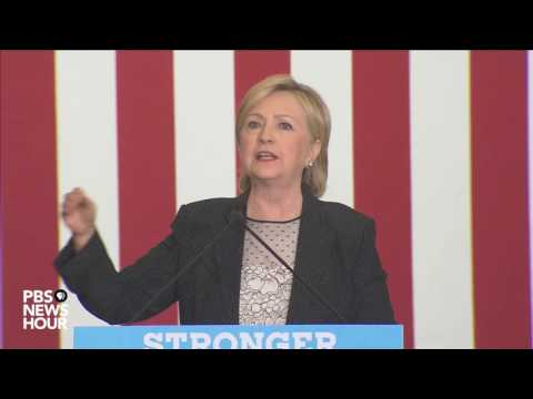 Watch full Hillary Clinton speech on economic policy