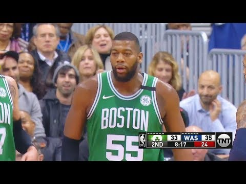 Greg Monroe First Bucket with Celtics in Boston Celtics Debut!