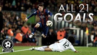 Lionel messi [all goals] vs real madrid |hd|