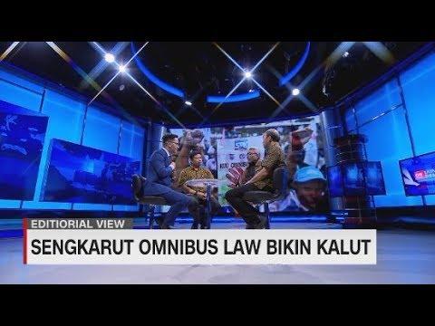 Editorial View: Omnibus Law Untuk Siapa? #LayarDemokrasi