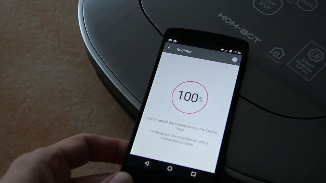 LG Hom-Bot Square Turbo + (VR9647PS)
