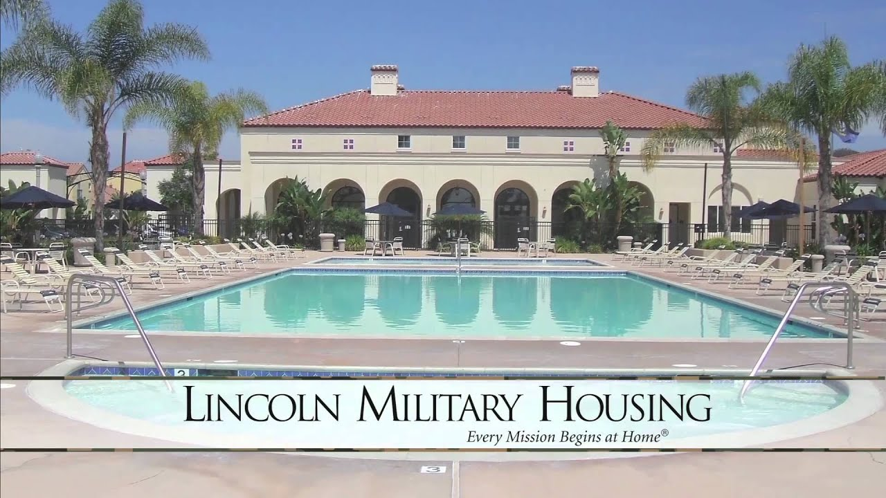 san diego naval complex lincoln military housing youtube