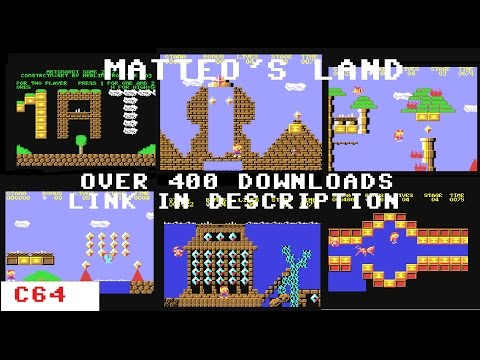 Preview Video of Matteo's Land, A New Commodore 64 Giana