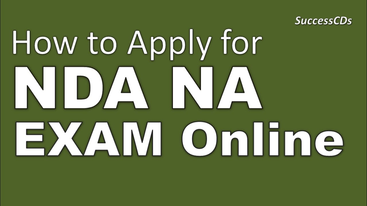 How to apply for NDA Exam Online – Free Nda Forms