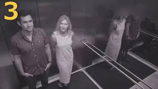 Bu Kadın Asansörde Kamera Olduğunu Bilmiyordu. Ne Yaptığına Bakın...