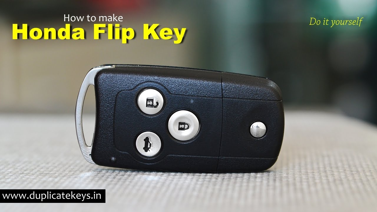 Honda Flip Key (www.flipkeys.in) - YouTube