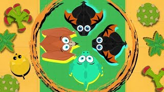 MOPE.IO / TAKING OVER THE ENTIRE SERVER / WOODPECKER EATS TIGER / 2ND CHANCE