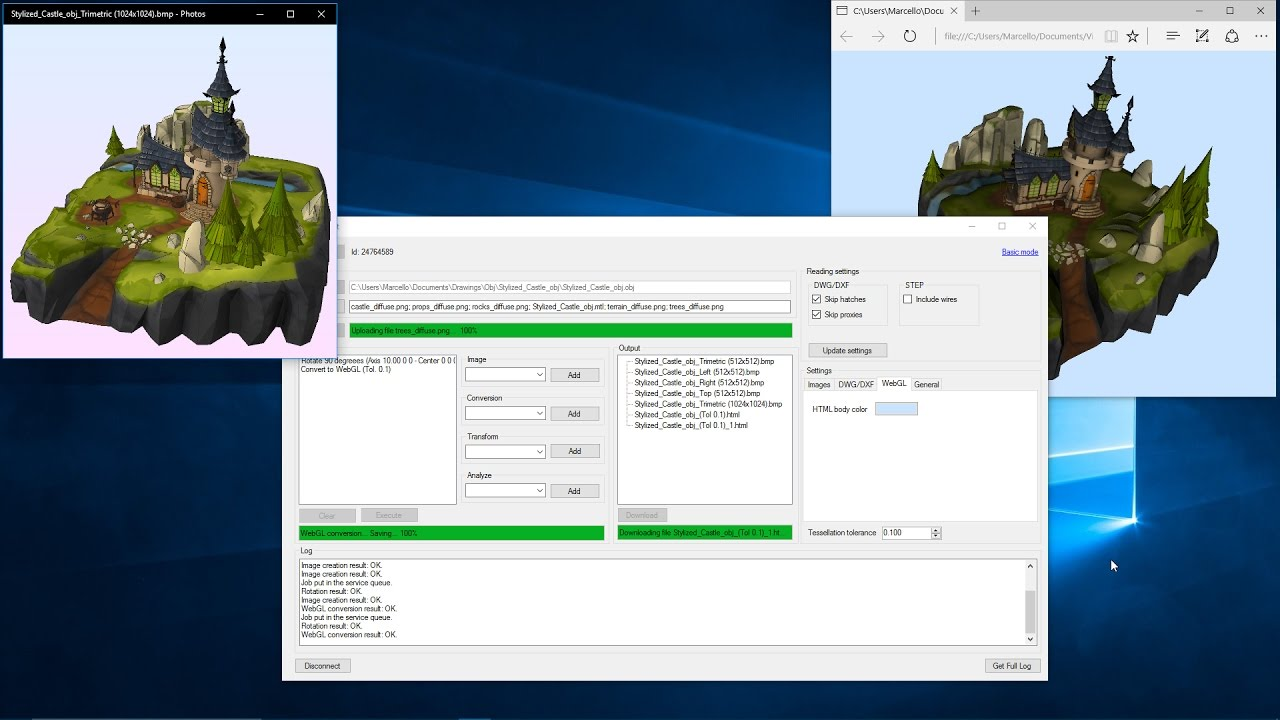 Eyeshot Web Service - devDept Software