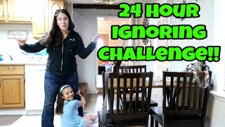 Ignoring Carlie For 24 Hours!