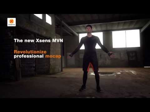 The NEW Xsens MVN - Revolutionize professional motion capture