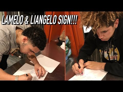 LaMelo & LiAngelo Sign PRO DEAL! $500 MAX CONTRACT With Lithuanian Team But Its NOT ABOUT THE MONEY!