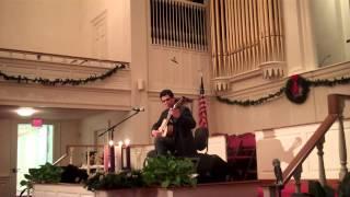 Niño Lindo, classical guitar, Hispanic (Venezuelan) Christmas Carol, Christian guitarist