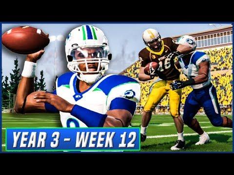 NCAA Football 14 Dynasty Year 3 - Week 12 vs Wyoming | Ep.47