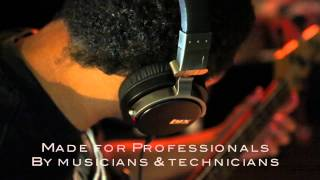 lyxpro professional sound isolating studio headphones for recording mixing djing easy listening