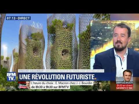 170502 - BFM TV - Interview de Vincent Callebaut