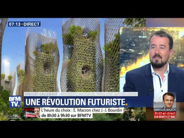170502 - BFM TV - Interview de Vincent Callebaut