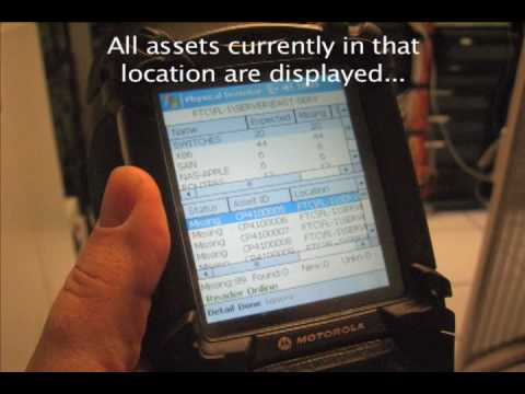 RFID Physical Inventory for IT Assets