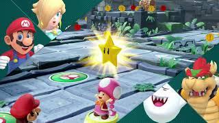 Super Mario Party Partner Party #213 Domino Ruins Treasure Hunt Mario & Rosalina vs Bowser & Boo