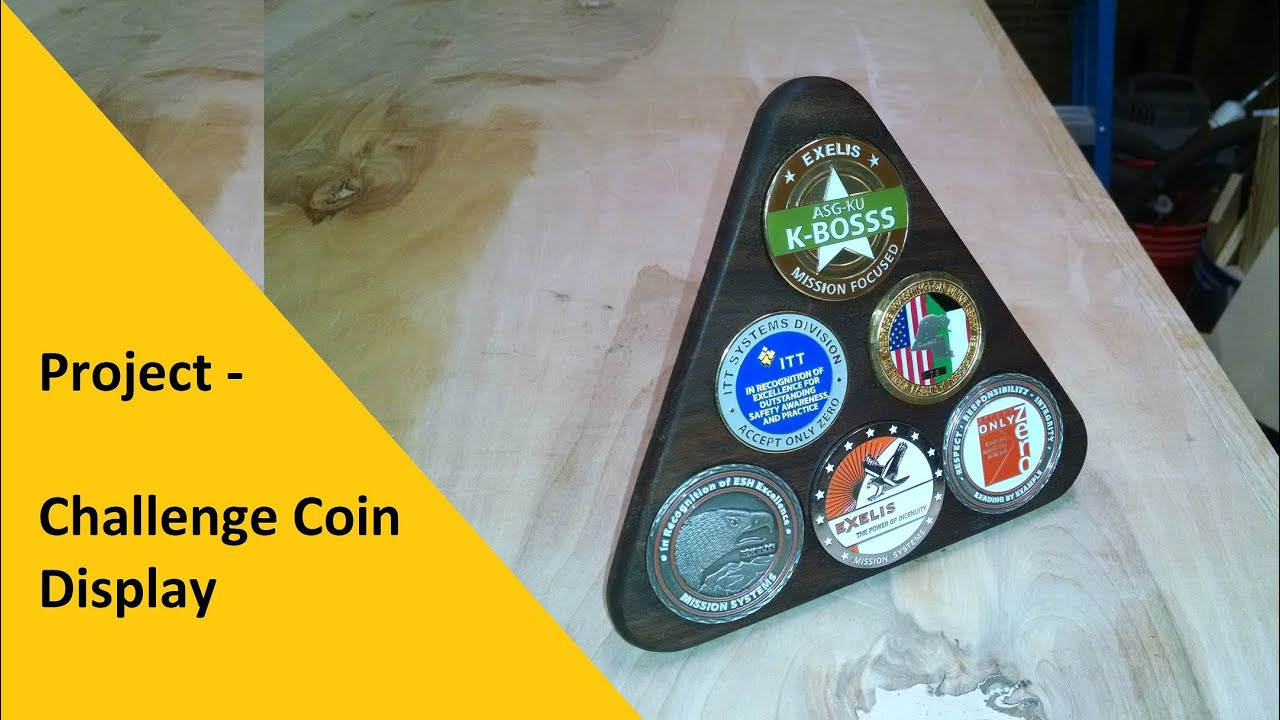 Project - Challenge Coin Display