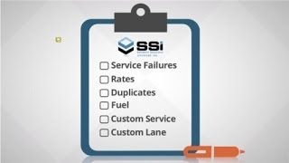 SSI Freight Bill Auditing Services(Most companies work hard negotiating freight contracts. But who is checking to make sure those agreements are honored and accurately billed?, 2014-10-14T18:34:48.000Z)