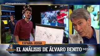 Álvaro Benito y Lobo Carraco ANALIZAN los ERRORES de España ante Rusia
