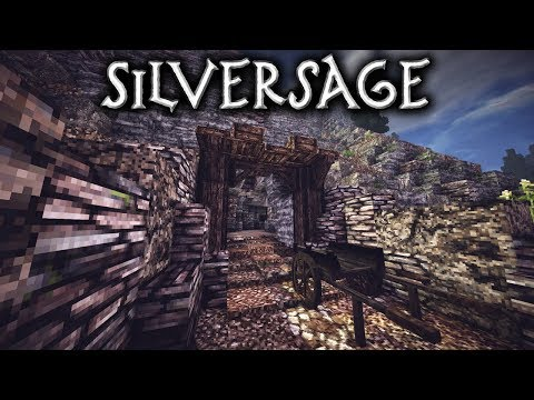 Minecraft: Silversage -  Ep6 - Mine Part 2/2 (Let's Build)