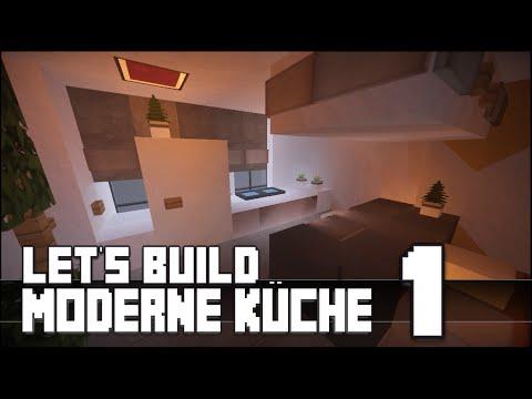 minecraft-::-möbel-tutorial-::-moderne-küche-bauen-#1