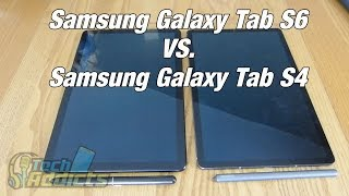 Samsung Galaxy Tab S6 vs Samsung Galaxy Tab S4