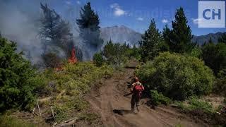 Incendio en Epuyén #Chubut