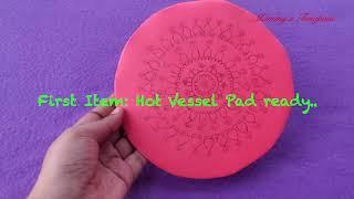 DIY Cardboard - 2 in 1 - Mouse Pad & Hot Vessel Pad