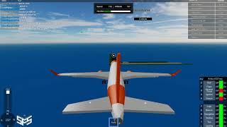 ROBLOX SFS Flight Simulator Easy Jet-Landing