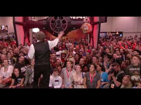 Mark Hamill Randomly Takes Over  And Tells Stories!! Very Funny! - Star Wars Celebration 2016