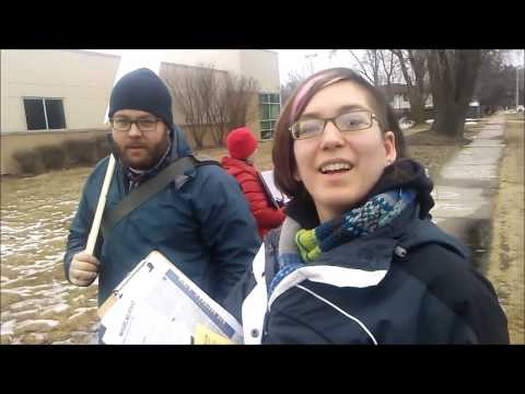 """SJW Does NOT Want Me Filming.  Calls """"Security"""" @ Planned Parenthood Madison, WI"""